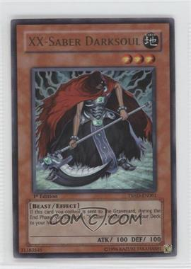 2010 Yu-Gi-Oh! The Shining Darkness Booster Pack [Base] 1st Edition #TSHD-EN081 - XX-Saber Darksoul (Ultra Rare)