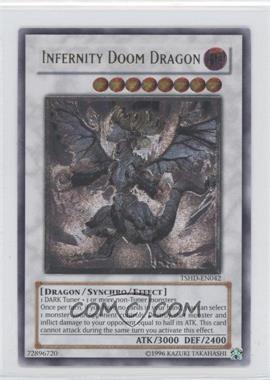 2010 Yu-Gi-Oh! The Shining Darkness Booster Pack [Base] Unlimited #TSHD-EN042.2 - Infernity Doom Dragon (Ultimate Rare)