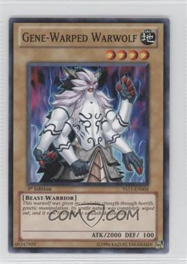2011 Yu-Gi-Oh! Dawn of the XYZ - Starter Deck [Base] - 1st Edition #YS11-EN004 - Gene-Warped Warwolf