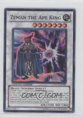 2011 Yu-Gi-Oh! Duelist Pack Collection Tin Limited Edition Promos #DPCT-EN002 - Zeman the Ape King