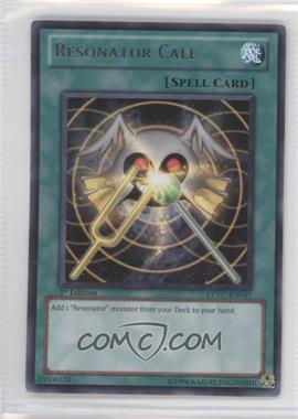2011 Yu-Gi-Oh! Extreme Victory Booster Pack [Base] 1st Edition #EXVC-EN047 - Resonator Call