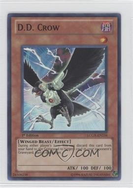 2011 Yu-Gi-Oh! GX Legendary Collection 2: Gameboard Edition - Mega-Pack [Base] - 1st Edition #LCGX-EN234 - D.D. Crow