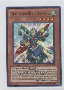 2011 Yu-Gi-Oh! GX Legendary Collection 2: Gameboard Edition Mega-Pack [Base] 1st Edition #LCGX-EN252 - Gladiator Beast Lanista