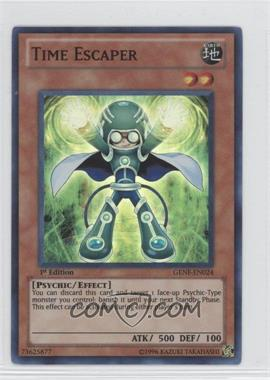 2011 Yu-Gi-Oh! Generation Force - Booster Pack [Base] - 1st Edition #GENF-EN024 - Time Escaper