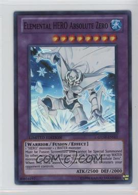 2011 Yu-Gi-Oh! Generation Force - Booster Pack [Base] - 1st Edition #GENF-EN0SE1 - Elemental HERO Absolute Zero