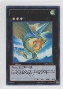 2011 Yu-Gi-Oh! Generation Force Booster Pack [Base] 1st Edition #GENF-EN043 - Leviair the Sea Dragon