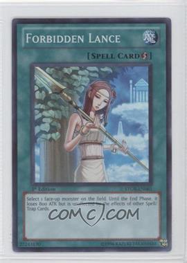 2011 Yu-Gi-Oh! Storm of Ragnarok Booster Pack [Base] 1st Edition #STOR-EN061 - Forbidden Lance