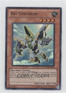2011 Yu-Gi-Oh! Yusei Fudo 3 Duelist Pack [Base] 1st Edition #DP10-EN014 - Bri Synchron