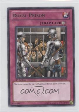 2012 Yu-Gi-Oh! Order of Chaos - Booster Pack [Base] - 1st Edition #ORCS-EN079 - Royal Prison