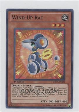2012 Yu-Gi-Oh! Order of Chaos Booster Pack [Base] 1st Edition #ORCS-EN023 - Wind-Up Rat