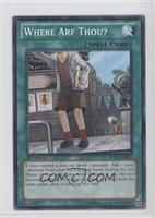 Where Arf Thou?