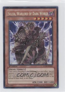 2013 Yu-Gi-Oh! Legendary Collection 4: Joey's World - Mega-Pack [Base] - 1st Edition #LCJW-EN245 - Sillva, Warlord of Dark World