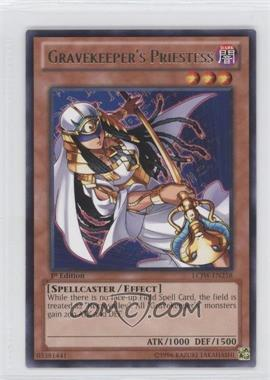2013 Yu-Gi-Oh! Legendary Collection 4: Joey's World - Mega-Pack [Base] - 1st Edition #LCJW-EN258 - Gravekeeper's Priestess