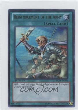 2013 Yu-Gi-Oh! Legendary Collection 4: Joey's World - Mega-Pack [Base] - 1st Edition #LCJW-EN286 - Reinforcement of the Army