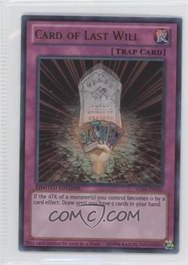 2013 Yu-Gi-Oh! Legendary Collection 4: Joey's World Box Set [Base] Limited Edition #LC04-EN003 - Card of Last Will (Non-Playable)
