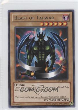 2013 Yu-Gi-Oh! Legendary Collection 4: Joey's World Mega-Pack [Base] 1st Edition #LCJW-EN236 - Beast of Talwar