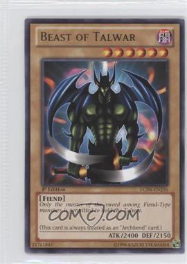 2013 Yu-Gi-Oh! Legendary Collection 4: Joey's World Mega-Pack [Base] 1st Edition #LCJW-EN236 - Beast of Talwar
