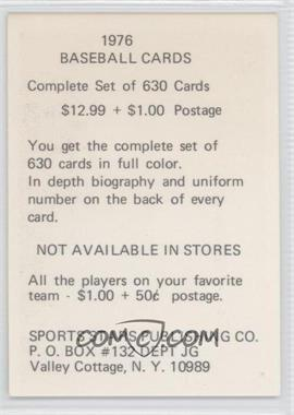 1976 SSPC Promos #6 - Tom Seaver - Courtesy of COMC.com