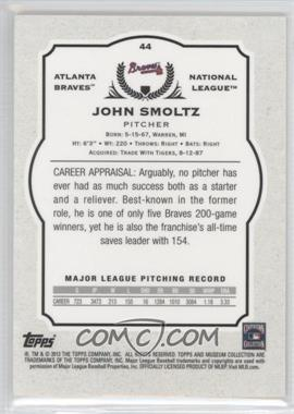 2013 Topps Museum Collection Blue #44 - John Smoltz/99 - Courtesy of COMC.com