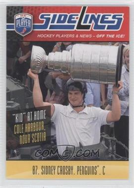 2009-10 Be A Player Sidelines #S54 - Sidney Crosby - Courtesy of COMC.com