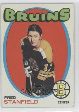 1971-72 Topps #7 - Fred Stanfield - Courtesy of CheckOutMyCards.com