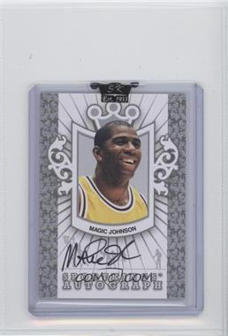 2007 Sportkings Autograph Silver #AMJ - Magic Johnson - Courtesy of CheckOutMyCards.com