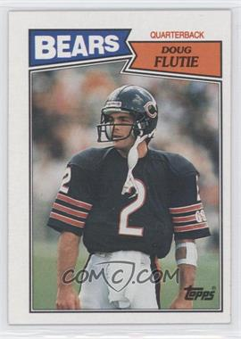 1987 Topps #45 - Doug Flutie RC (Rookie Card) - Courtesy of CheckOutMyCards.com