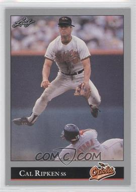 1992 Leaf #52 - Cal Ripken - Courtesy of COMC.com