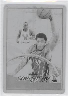 2009-10 Topps Press Plates Black #144 - Michael Beasley/1 - Courtesy of CheckOutMyCards.com