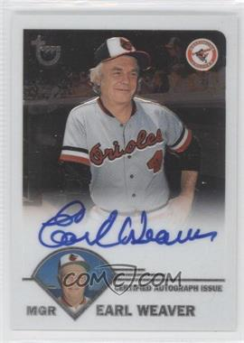 2003 Topps Retired Signature Autographs #EW - Earl Weaver G - Courtesy of COMC.com