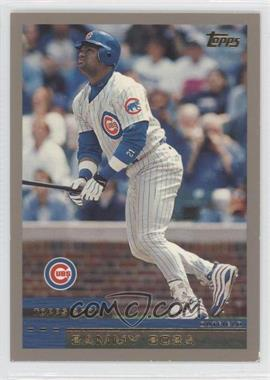 2000 Topps #50 - Sammy Sosa - Courtesy of COMC.com