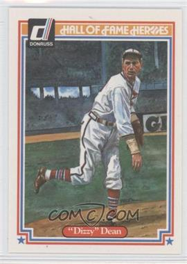 1983 Donruss HOF Heroes #29 - Dizzy Dean - Courtesy of COMC.com