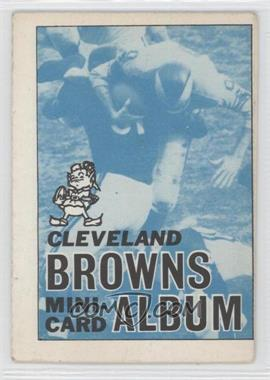 1969 Topps Mini-Albums Inserts #4 - Cleveland Browns [Good to VG‑EX] - Courtesy of COMC.com