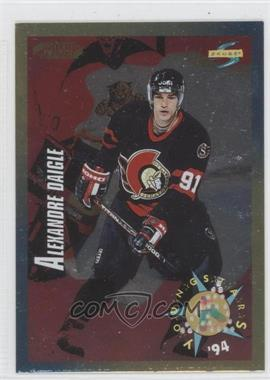 1994-95 Score Gold Line Punched #248 - Alexandre Daigle YS
