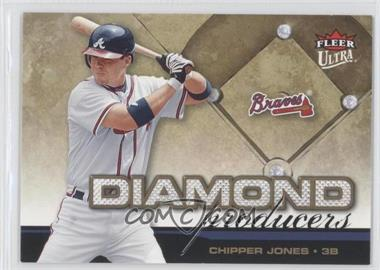 2006 Ultra Diamond Producers #DP2 - Chipper Jones - Courtesy of COMC.com