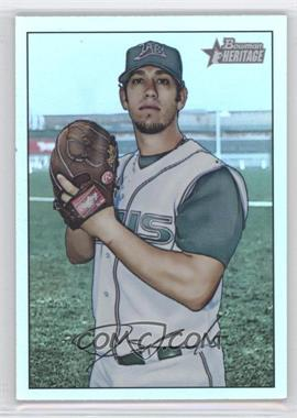 2007 Bowman Heritage Rainbow Foil #78 - James Shields - Courtesy of CheckOutMyCards.com