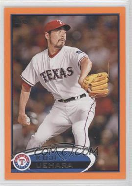 2012 Topps Factory Set Orange #171 - Koji Uehara/190 - Courtesy of COMC.com