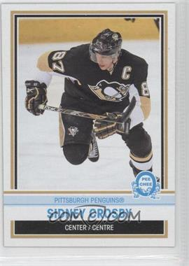 2009-10 O-Pee-Chee Box Bottoms #NNO - Sidney Crosby - Courtesy of CheckOutMyCards.com