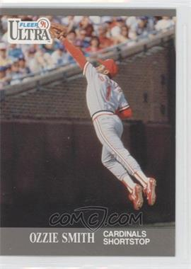 1991 Ultra #296 - Ozzie Smith - Courtesy of CheckOutMyCards.com