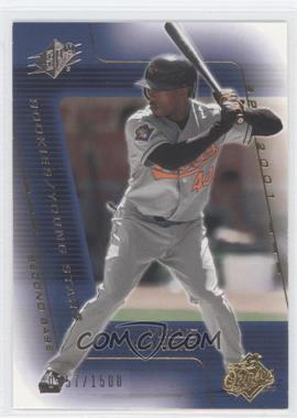 2001 SPx #187 - Willie Harris YS RC (Rookie Card)/1500 - Courtesy of COMC.com