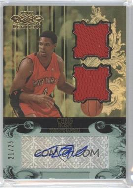 2007-08 Topps Echelon Autographs Dual Relics Gold #RCB - Chris Bosh/25 - Courtesy of CheckOutMyCards.com