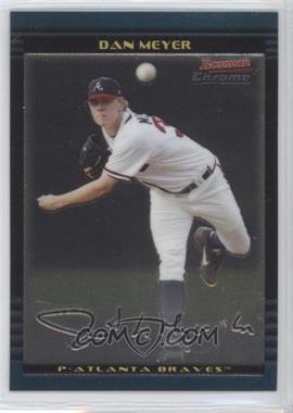 2002 Bowman Chrome Draft #34 - Dan Meyer RC (Rookie Card) - Courtesy of COMC.com