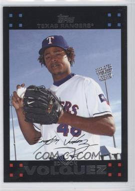 2007 Topps Update #299 - Edinson Volquez - Courtesy of CheckOutMyCards.com