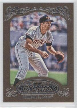 2012 Topps Gypsy Queen Framed Gold #254 - Brooks Robinson - Courtesy of COMC.com