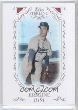 2009 Topps Sterling Framed White #118 - Carl Erskine/50 - Courtesy of CheckOutMyCards.com
