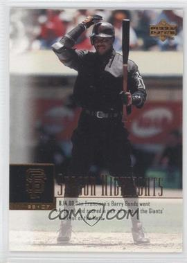 2001 Upper Deck #267 - Barry Bonds SH - Courtesy of COMC.com