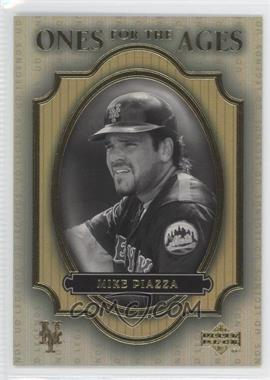 2000 Upper Deck Legends Ones for the Ages #O7 - Mike Piazza - Courtesy of COMC.com