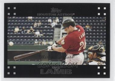 2007 Topps #423 - Mike Lamb - Courtesy of COMC.com