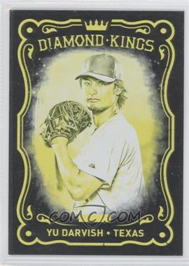 2012 Panini Black Friday Make Ready Yellow #40 - Yu Darvish/5 - Courtesy of COMC.com