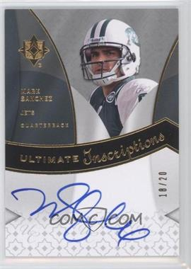 2009 Ultimate Collection Ultimate Inscriptions #ISA - Mark Sanchez/20 - Courtesy of CheckOutMyCards.com